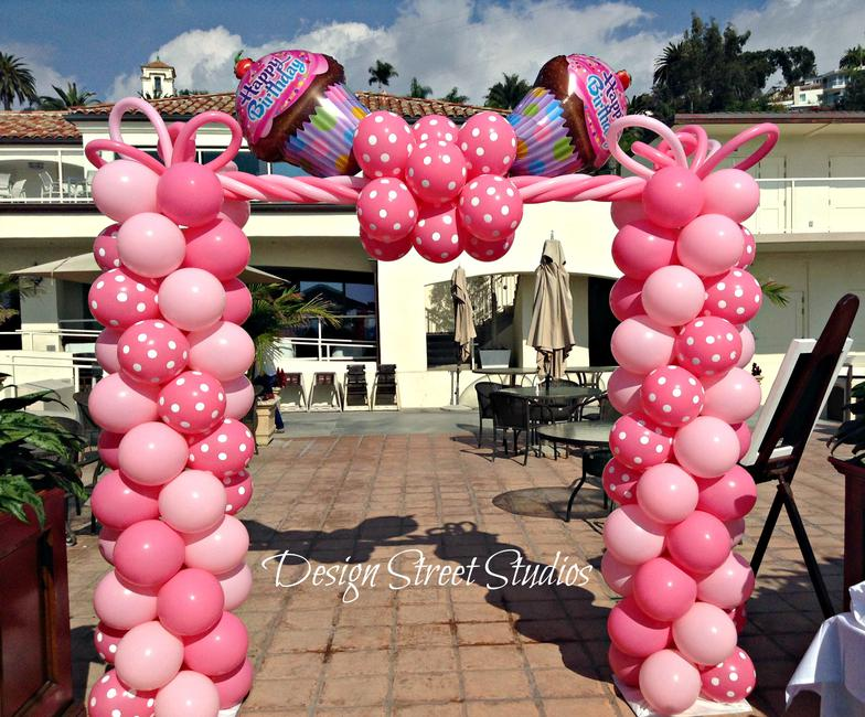 Fun Birthday Arch