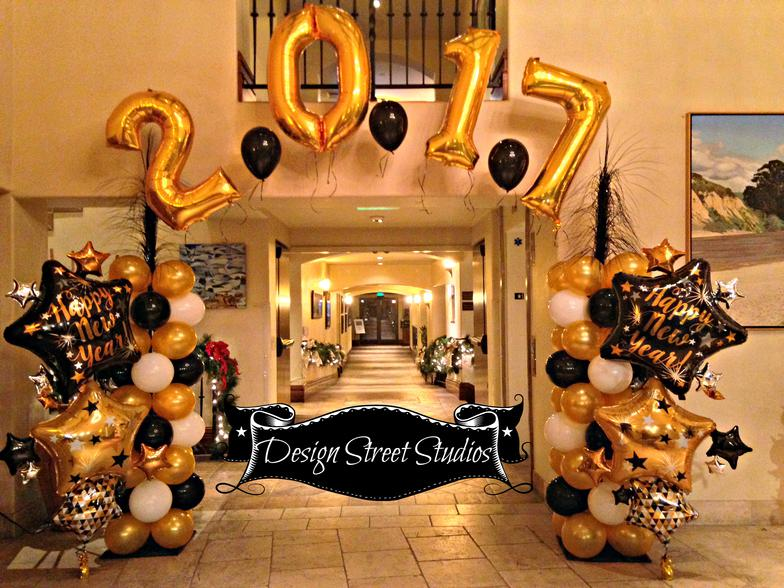 New Year's Entrance Arch