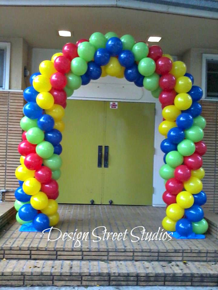 Small Double Door Entrance Arch