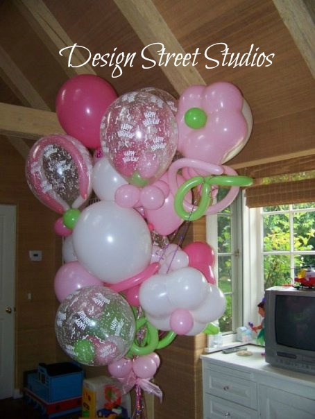 Big Pink Birthday Balloons