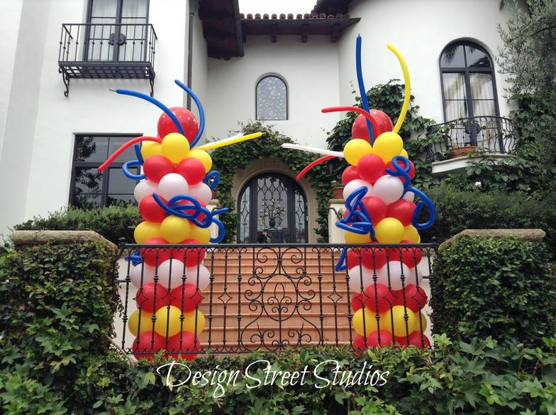 Entrance Balloon Towers