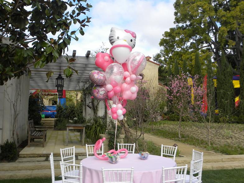Hello Kitty Birthday Balloon Bouquet