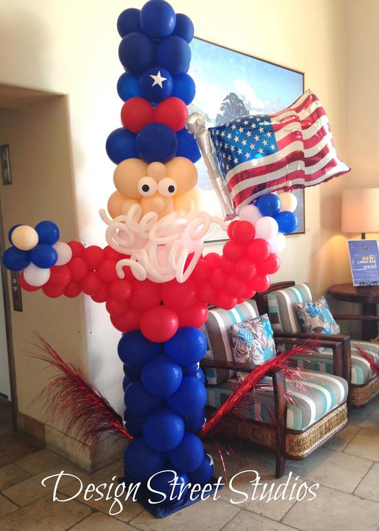 Large Uncle Sam Balloon Sculpture