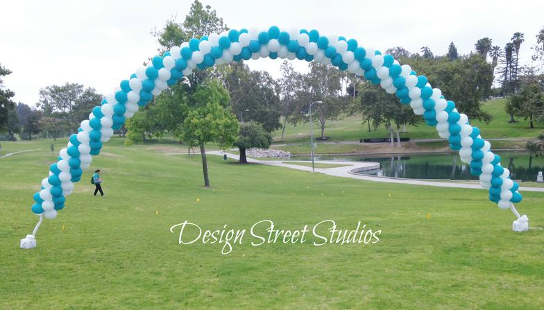 Charity Corporate Balloon Arch