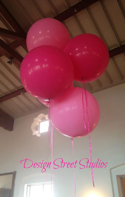 Giant large Balloon display grouping