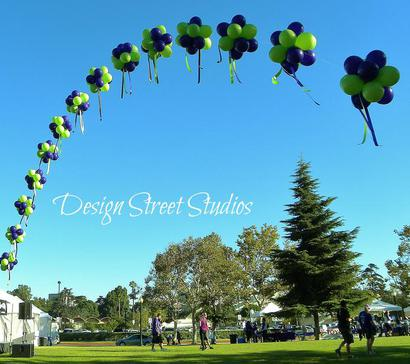 Grand Topiary Balloon Arch